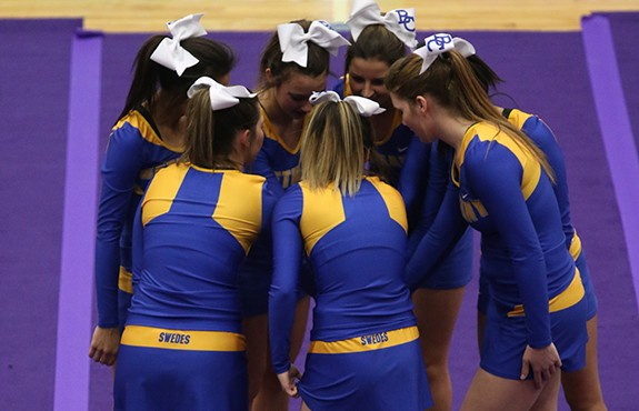 Photo for Cheer Competes at Coyote Invitational