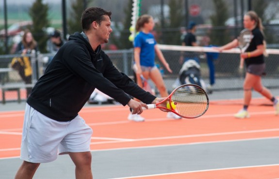 Photo for Men's Tennis takes down (RV) Baker University 7-2