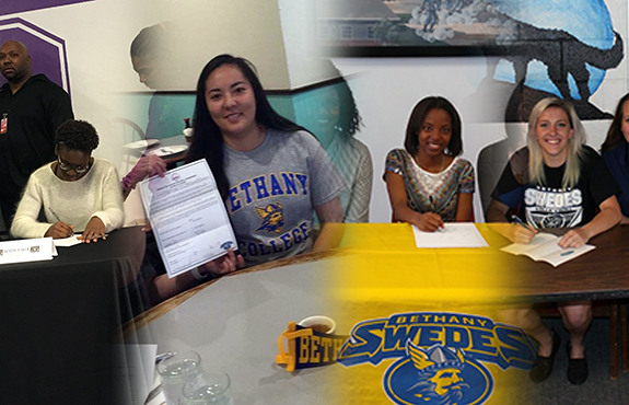 Photo for Volleyball Signs Four for 2016