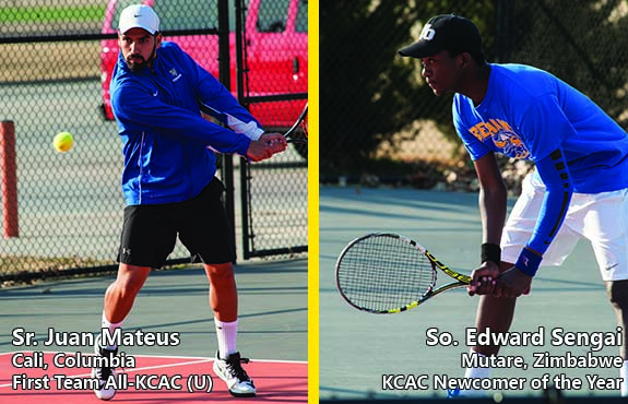 Photo for Mateus and Sengai Lead Swedes in All-KCAC Selections