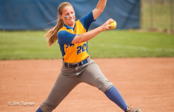 Photo for Softball Falls in Road Battle at McPherson