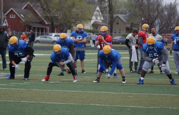 Photo for Football Looks to Spring Game to Showcase Off-Season Work