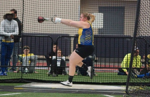Photo for Johnson Competes in NAIA National Indoor Track and Field Meet