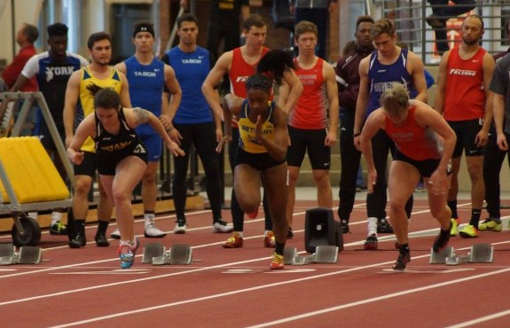 Photo for Track and Field Teams Notch Five Personal Records in Alex Francis Classic