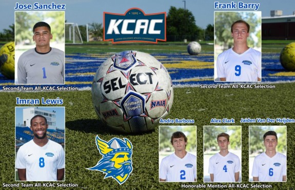 Photo for Six Swedes Earn All-Conference Honors for Men's Soccer