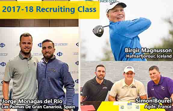 Photo for Swedes Men's Golf Adds Three More for 2017-18 Season