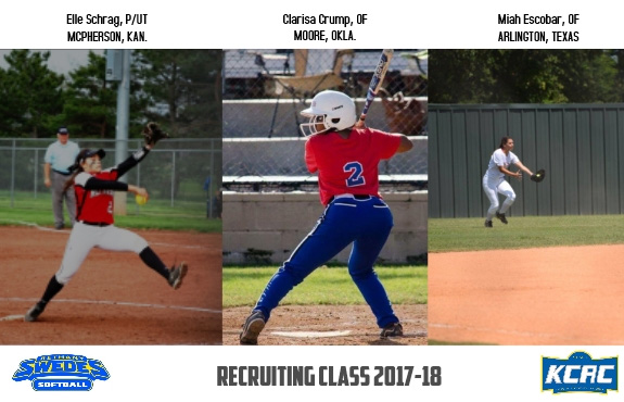 Photo for Softball Welcomes Three More to 2017-18 Recruiting Class