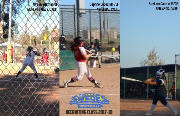 Photo for Softball Announces Three More Signees to 2017-18 Recruiting Class