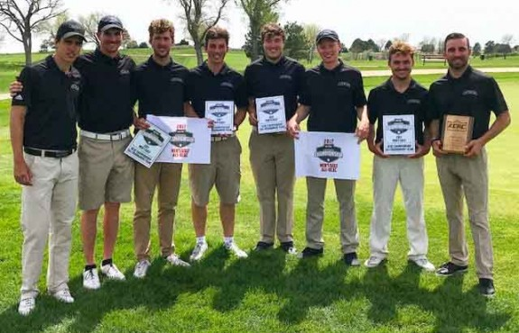 Photo for Swedes Men's Golf Concludes Season With KCAC Tournament Second Place Finish