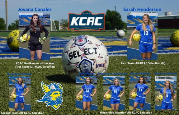 Photo for Canales and Henderson Standout in KCAC Awards