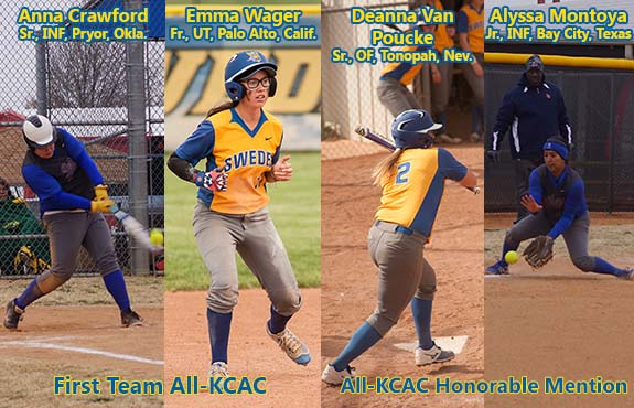 Photo for Four Swedes Earn All-Conference Honors