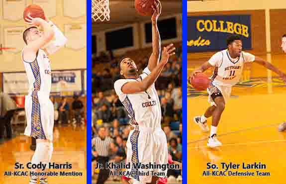 Photo for Three Swedes Earn All-KCAC Men's Basketball Honors