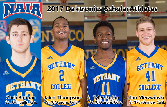 Photo for Four Swedes Land on NAIA Men's Basketball Scholar Athletes List