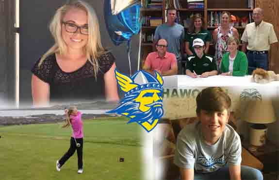 Photo for Golf adds four to 2016-2017 roster