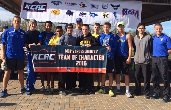 Photo for Bethany College Men's Cross Country Earns 2016 KCAC Team of Character