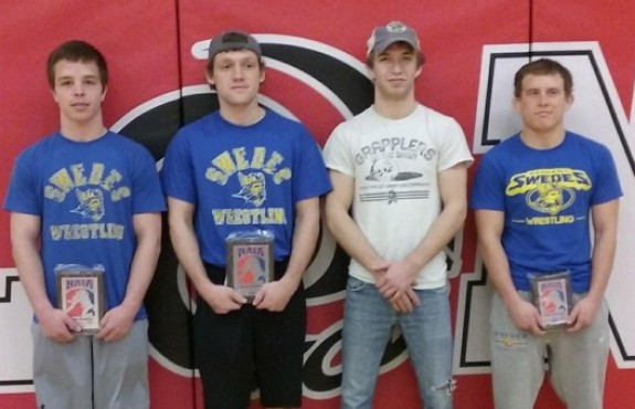 Photo for Swedes Bow Out of NAIA National Wrestling Tournament