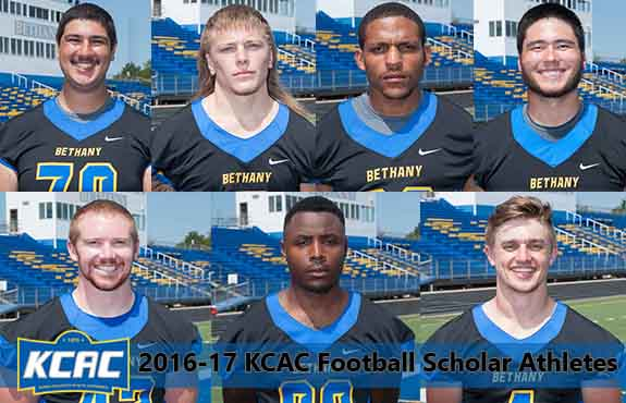 Photo for Seven Student-Athletes Earn KCAC Football Scholar Athlete Honors