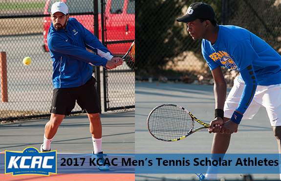 Photo for Mateus and Sengai Earn KCAC Scholar Athlete Honors
