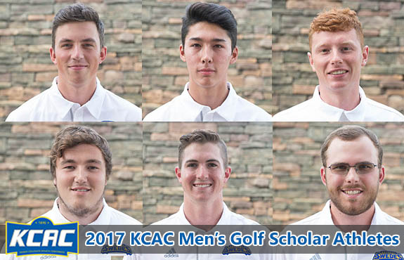 Photo for Six Student-Athletes Earn KCAC Men's Golf Scholar Athlete Honors