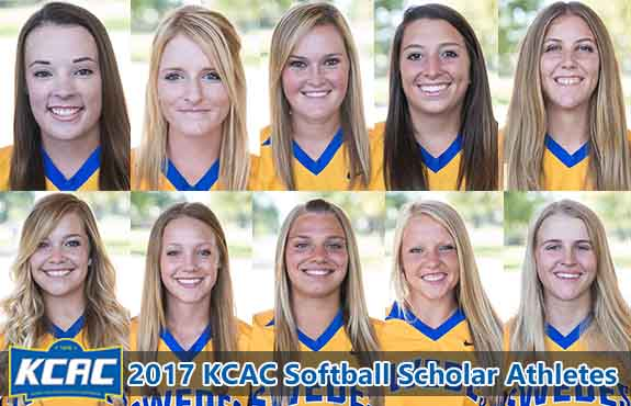 Photo for Swedes Softball Lands Ten on KCAC Scholar Athlete List