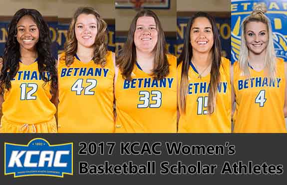 Photo for Women's Basketball Places Five on KCAC Scholar Athlete List