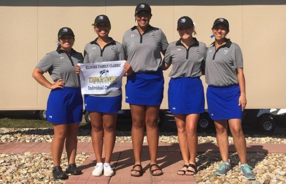 Photo for Golf Kicks of Fall Season; Women Tie for First, Bryant Earns Individual Medal