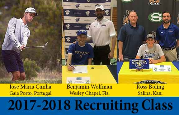 Photo for Wolfman, Boling, and Maria Cunha Join Swedes Golf Recruiting Class